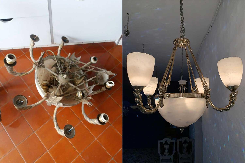 Restauración de Lámparas